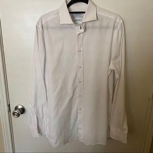Charles Tyrwhitt White Button Down Dress Shirt
